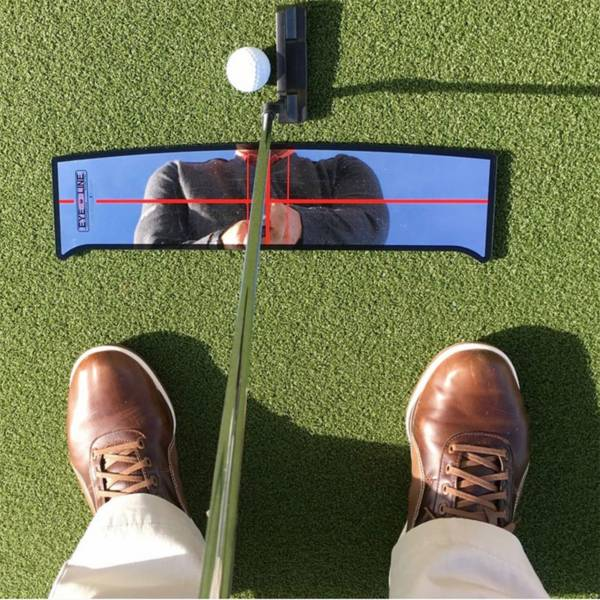 EyeLine Golf Shoulder Mirror - Small Putting Alignment Mirror product image