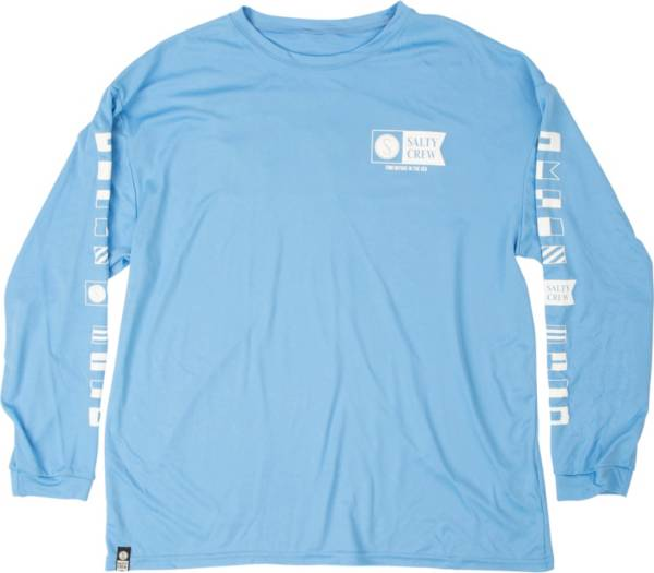 Salty Crew Men's Alpha Tech Long Sleeve T-Shirt product image