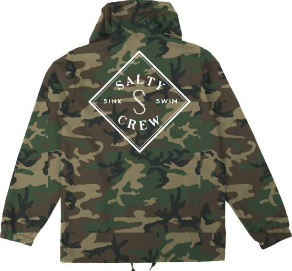 Salty Crew Men's Tippet Cover Up Snap Windbreaker product image