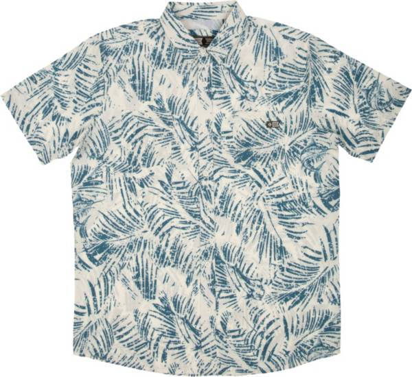 Salty Crew Men's Weathered Short Sleeve UPF Woven Button Down Shirt product image