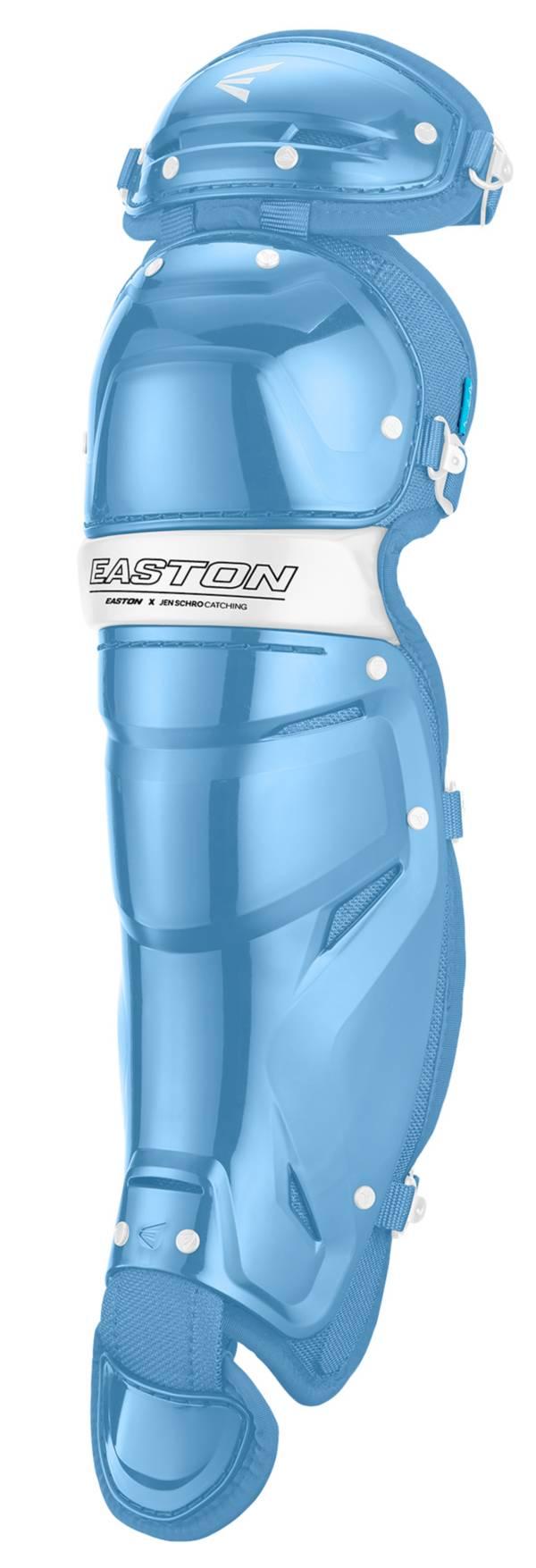 "Easton Women's Jen Schro ""The Very Best"" Fastpitch Catcher's Leg Guards product image"