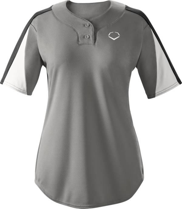 EvoShield Girls' E601 2-Button Placket Softball Pullover product image