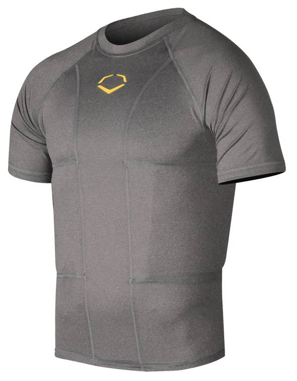 EvoShield Adult Performance Football Rib Shirt with Shields product image
