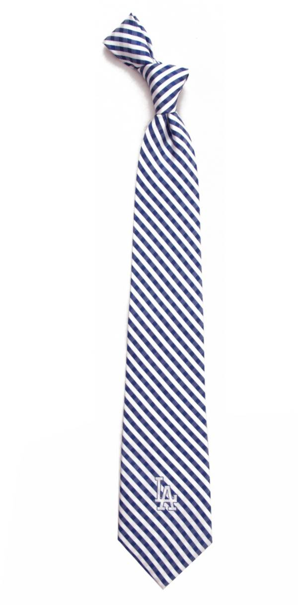 Eagles Wings Los Angeles Dodgers Gingham Necktie product image