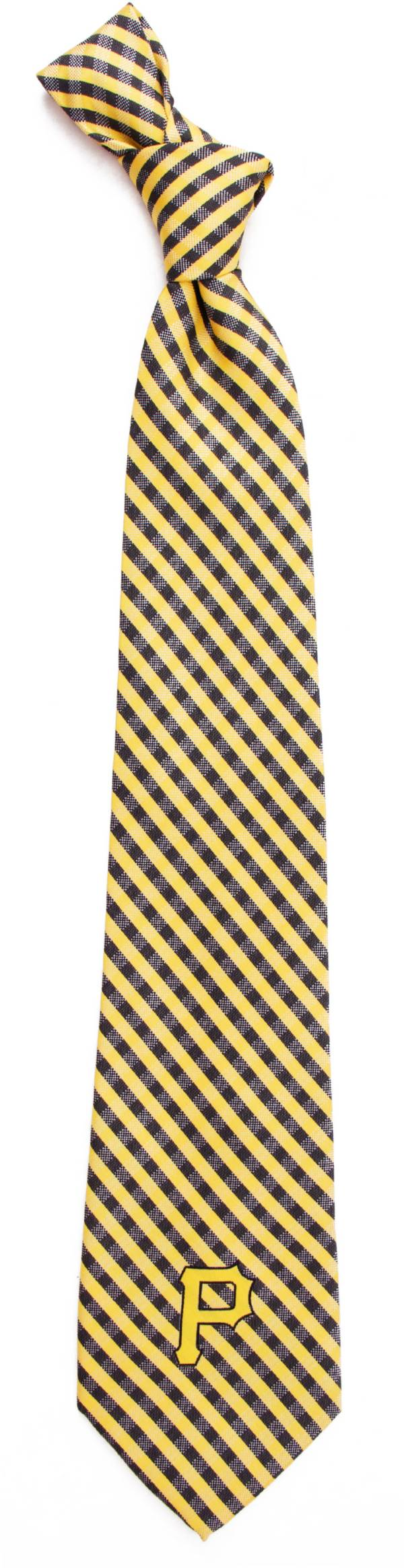 Eagles Wings Pittsburgh Pirates Gingham Necktie product image