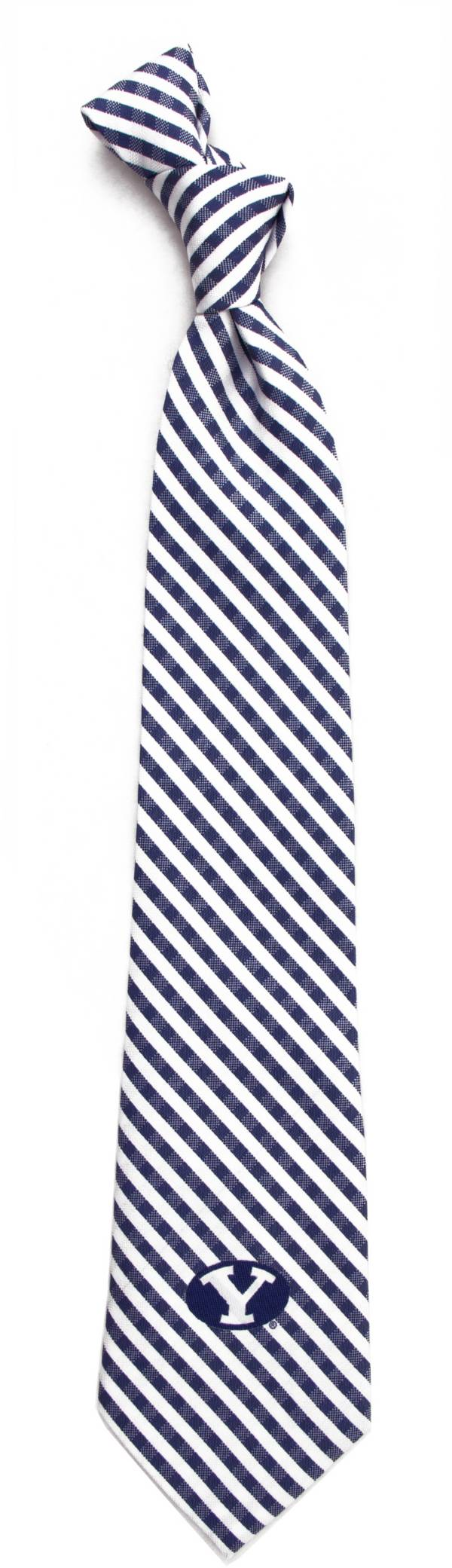Eagles Wings BYU Cougars Gingham Necktie product image