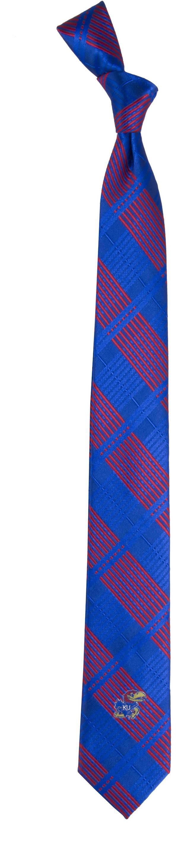 Eagles Wings Kansas Jayhawks Skinny Plaid Necktie product image