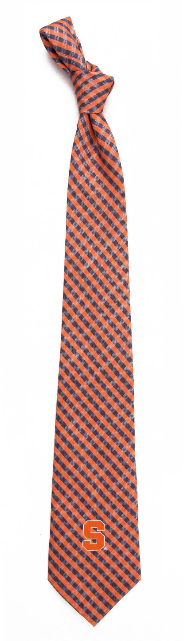 Eagles Wings Syracuse Orange Gingham Necktie product image