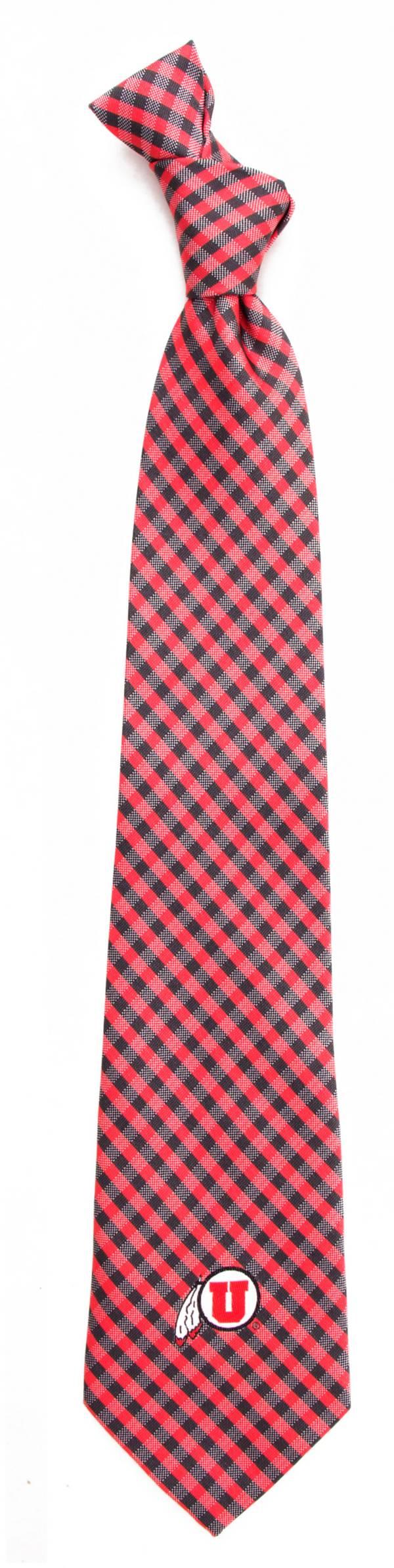 Eagles Wings Utah Utes Gingham Necktie product image