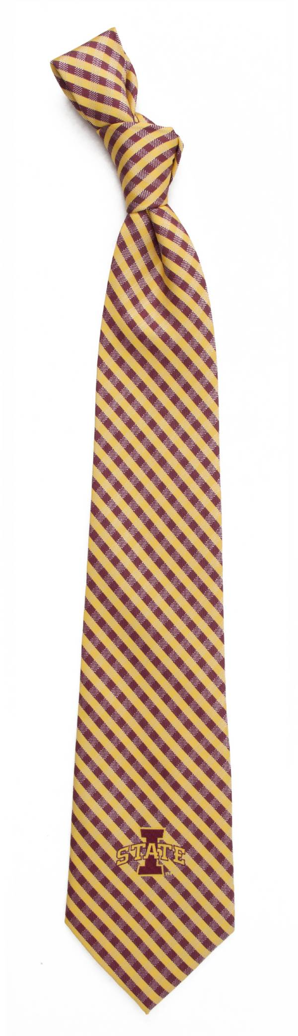 Eagles Wings Iowa State Cyclones Gingham Necktie product image