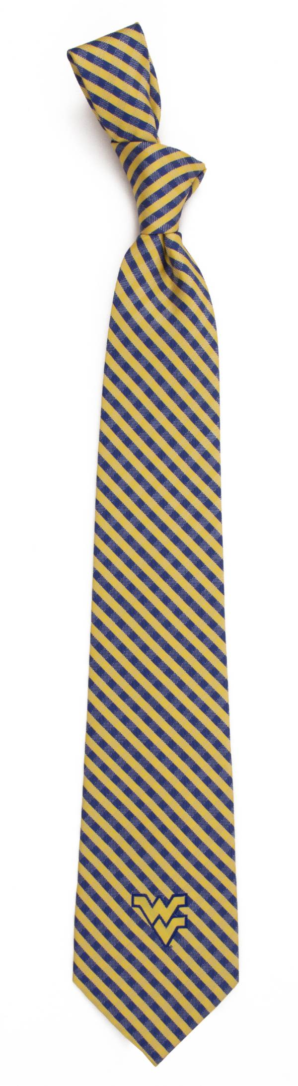Eagles Wings West Virginia Mountaineers Gingham Necktie product image