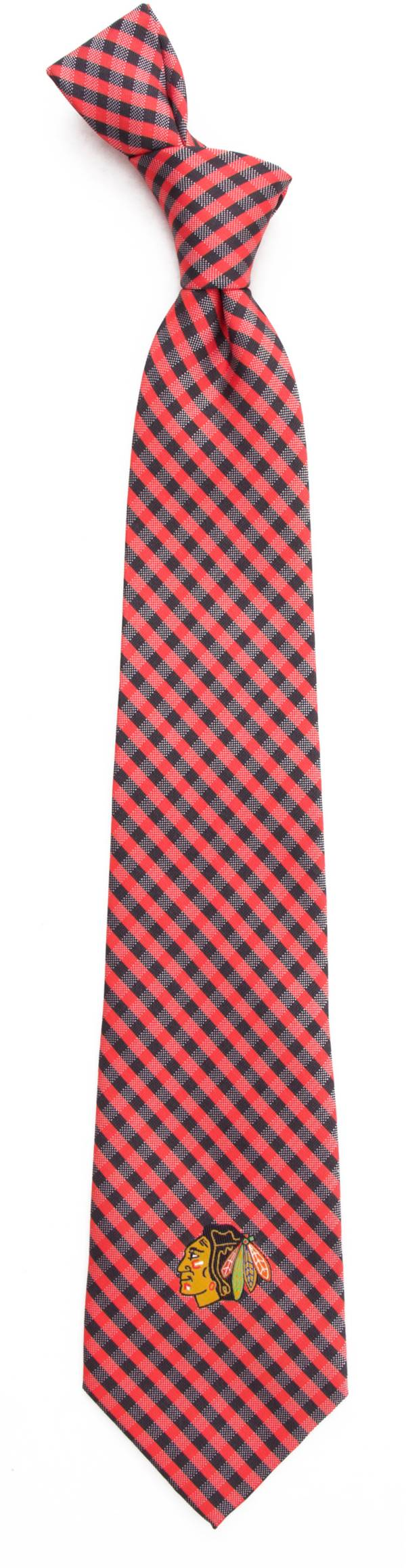 Eagles Wings Chicago Blackhawks Gingham Necktie product image