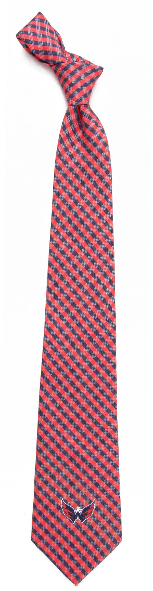 Eagles Wings Washington Capitals Gingham Necktie product image
