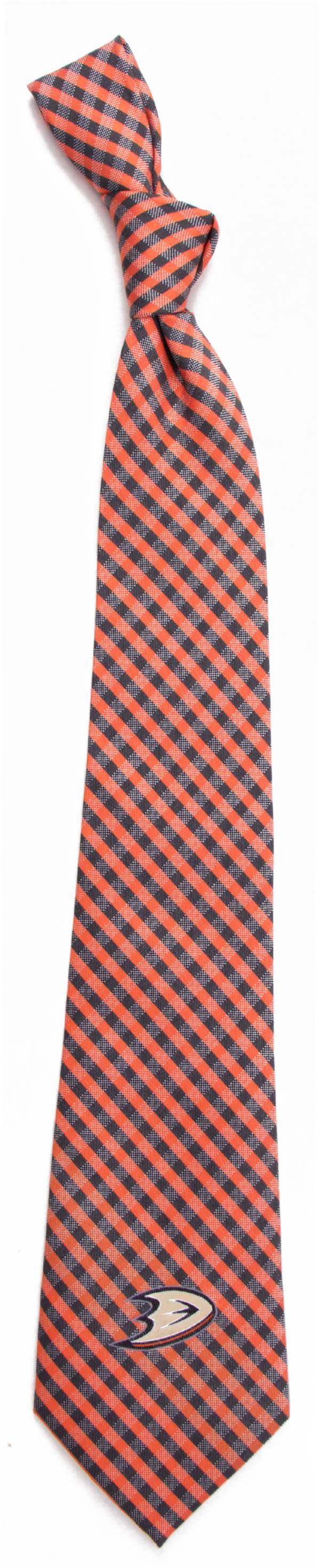 Eagles Wings Anaheim Ducks Gingham Necktie product image