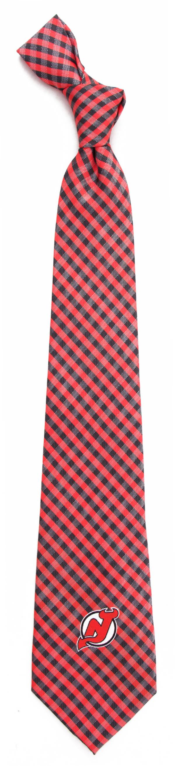Eagles Wings New Jersey Devils Gingham Necktie product image