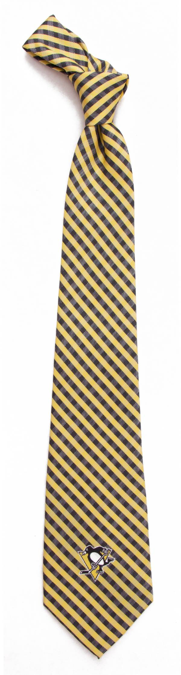 Eagles Wings Pittsburgh Penguins Gingham Necktie product image