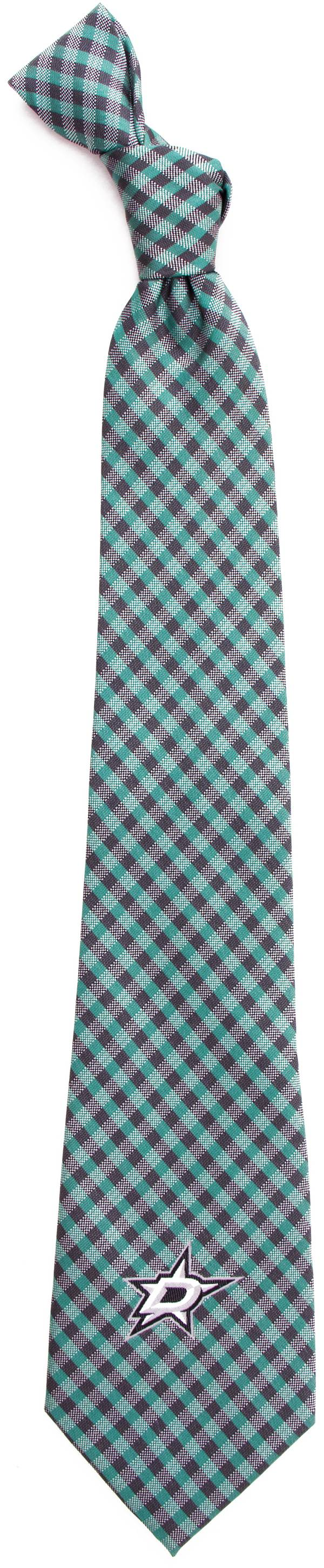 Eagles Wings Dallas Stars Gingham Necktie product image