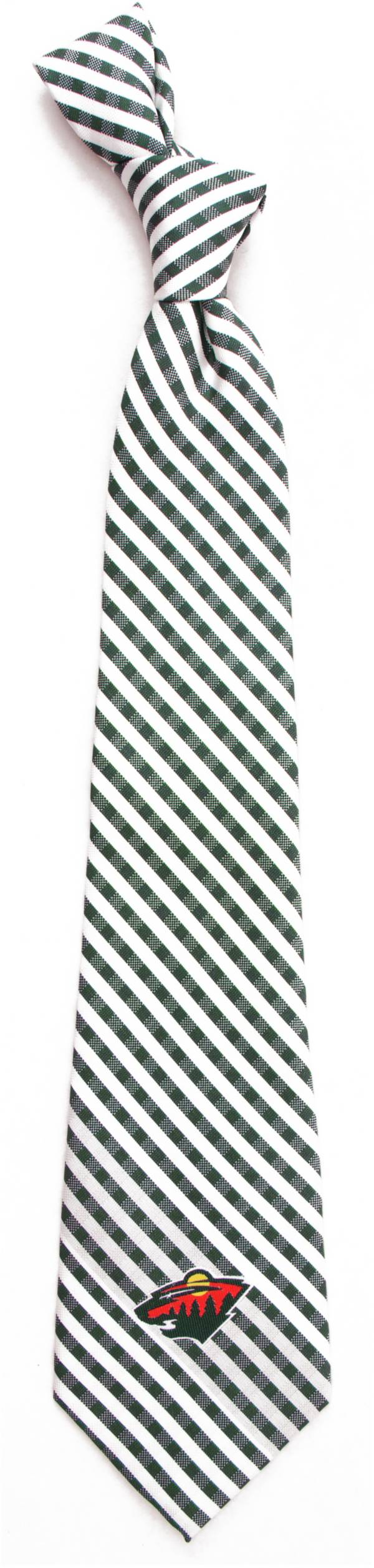 Eagles Wings Minnesota Wild Gingham Necktie product image