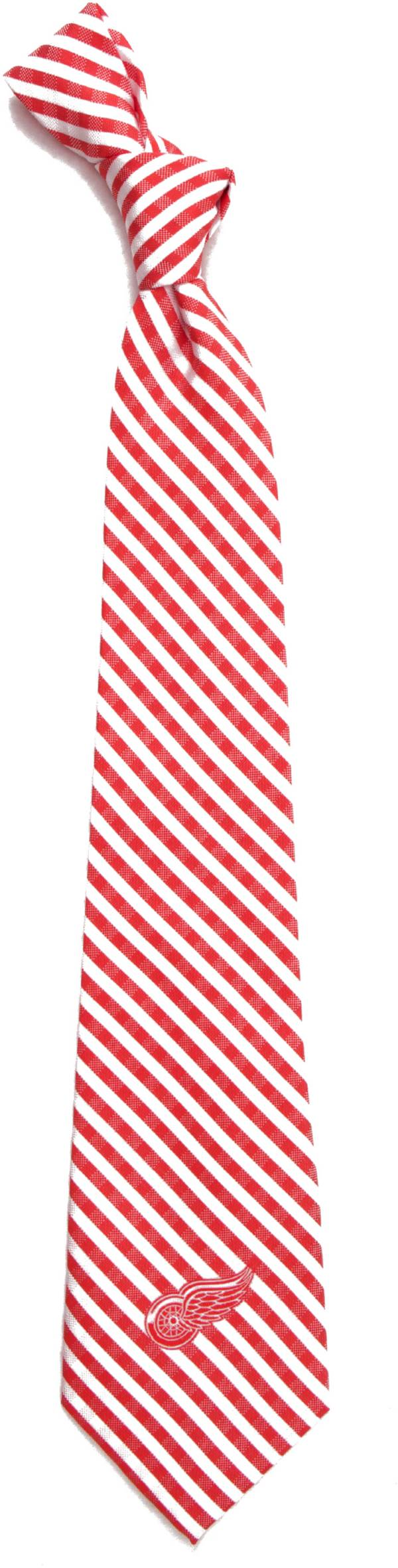 Eagles Wings Detroit Redwings Gingham Necktie product image