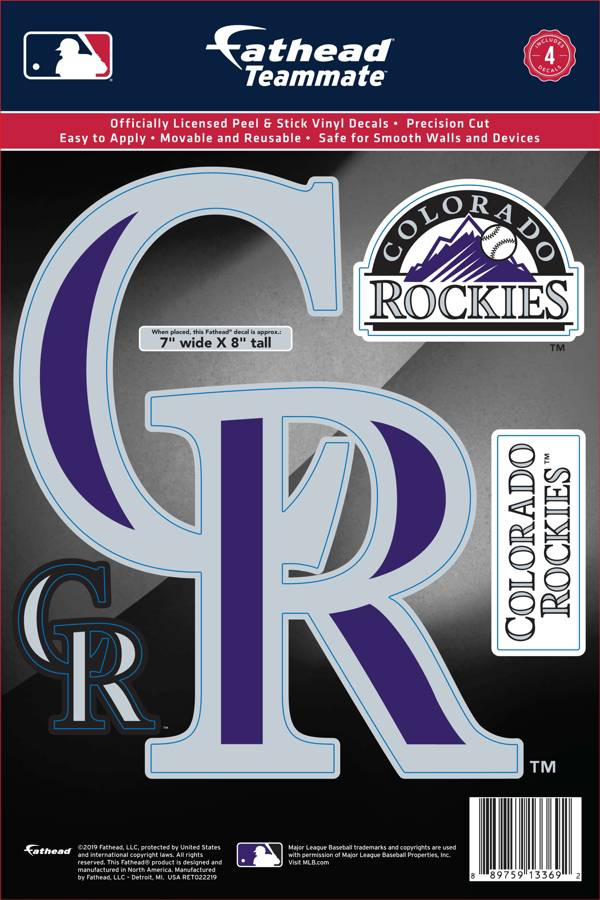 Fathead Colorado Rockies Logo Wall Decal product image