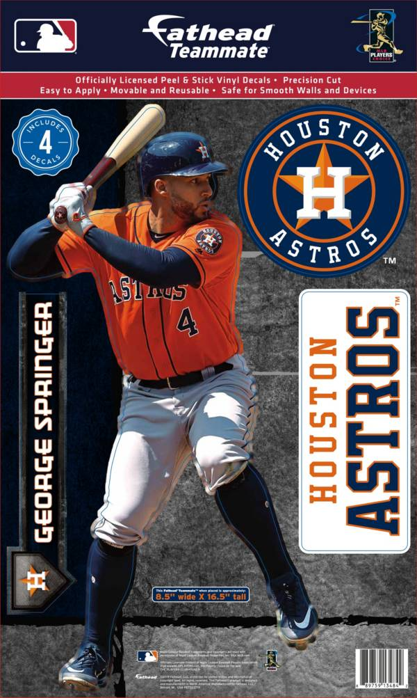 Fathead Houston Astros George Springer Teammate Wall Decal product image
