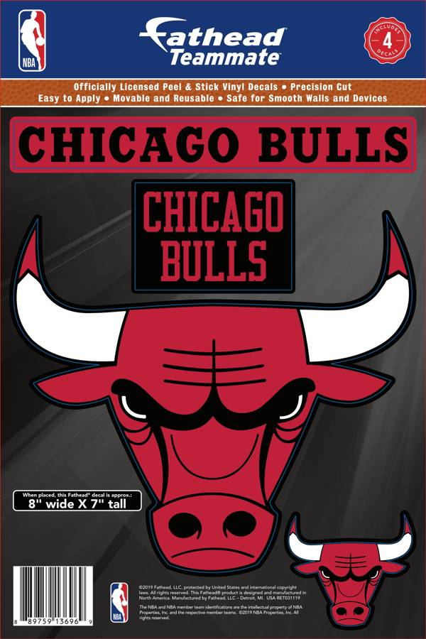 Fathead Chicago Bulls Logo Wall Decal product image