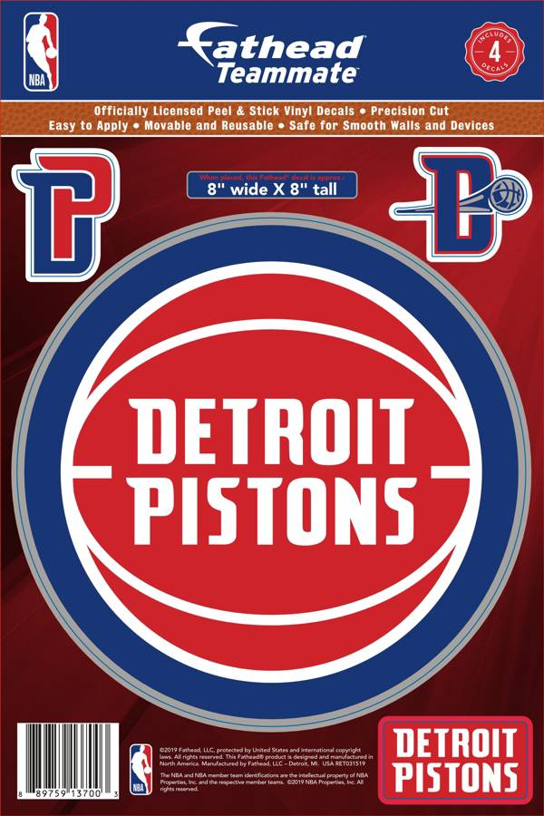 Fathead Detroit Pistons Logo Wall Decal product image