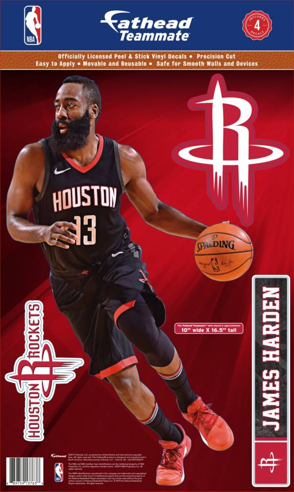Fathead Houston Rockets James Harden Teammate Wall Decal product image