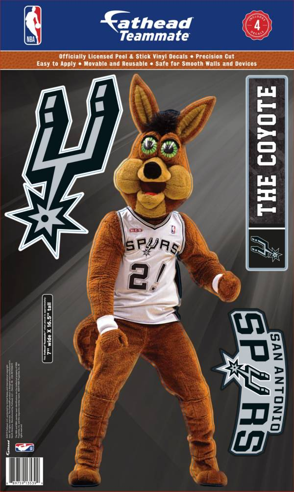 Fathead San Antonio Spurs Coyote Mascot Wall Decal product image