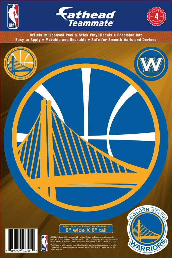 Fathead Golden State Warriors Logo Wall Decal product image