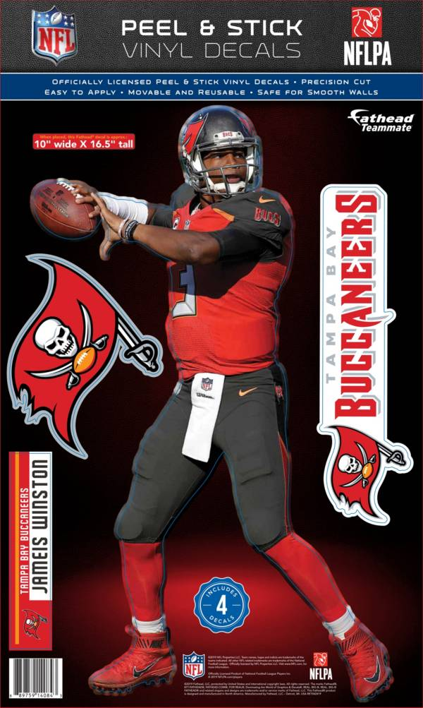 Fathead Tampa Bay Buccaneers Jameis Winston Teammate Wall Decal product image