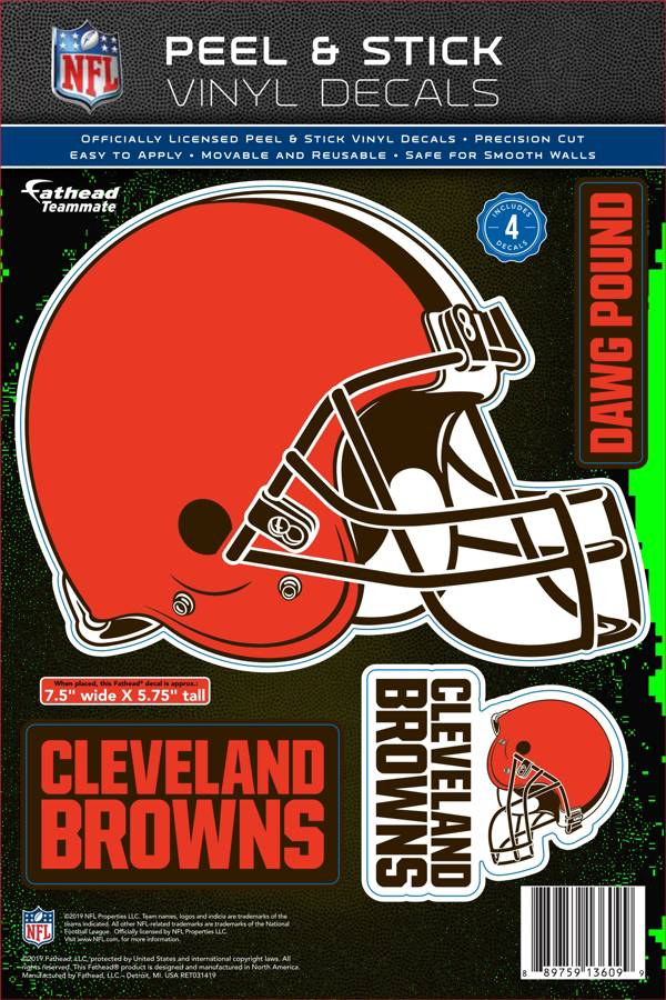 Fathead Cleveland Browns Logo Wall Decal product image