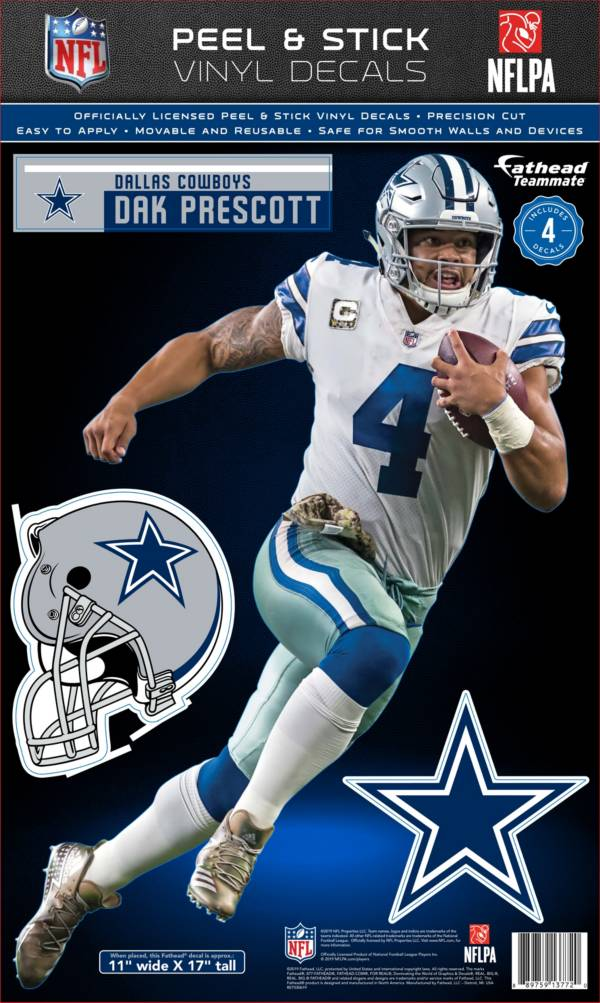 Fathead Dallas Cowboys Dak Prescott Teammate Wall Decal product image
