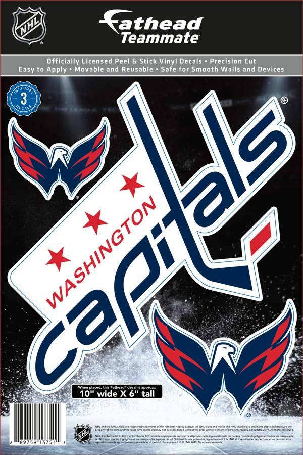 Fathead Washington Capitals Logo Wall Decal product image
