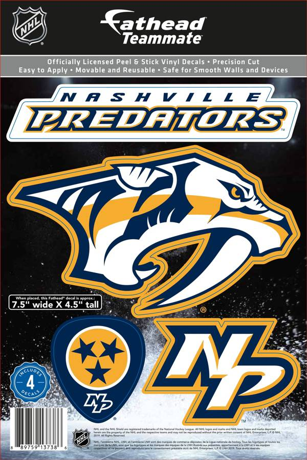 Fathead Nashville Predators Logo Wall Decal product image