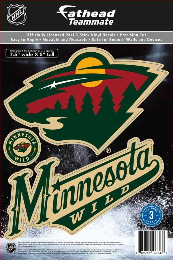 Fathead Minnesota Wild Logo Wall Decal Dick S Sporting Goods