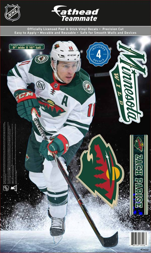 Fathead Minnesota Wild Zach Parise Teammate Wall Decal product image