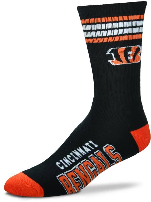 For Bare Feet Cincinnati Bengals Four Stripe Deuce Socks product image