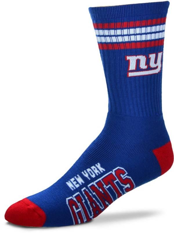For Bare Feet New York Giants Four Stripe Deuce Socks product image