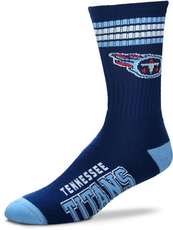 For Bare Feet Tennessee Titans Four Stripe Deuce Socks product image