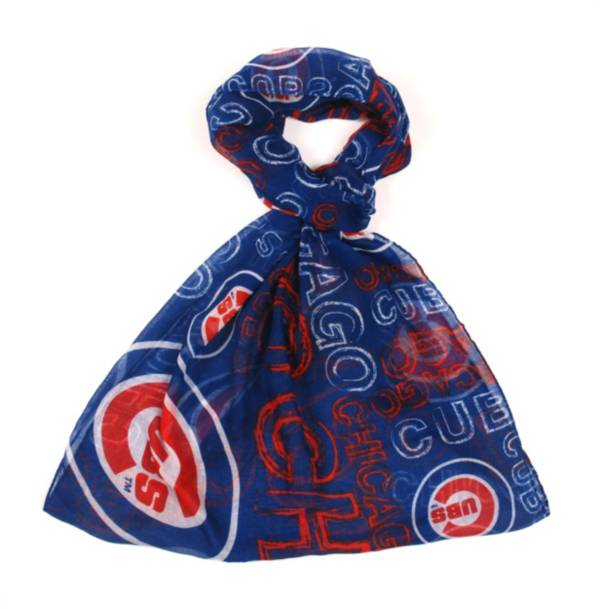 FOCO Chicago Cubs Logo Infinity Scarf product image