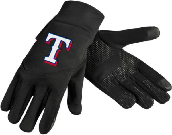 FOCO Texas Rangers Neoprene Texting Gloves product image