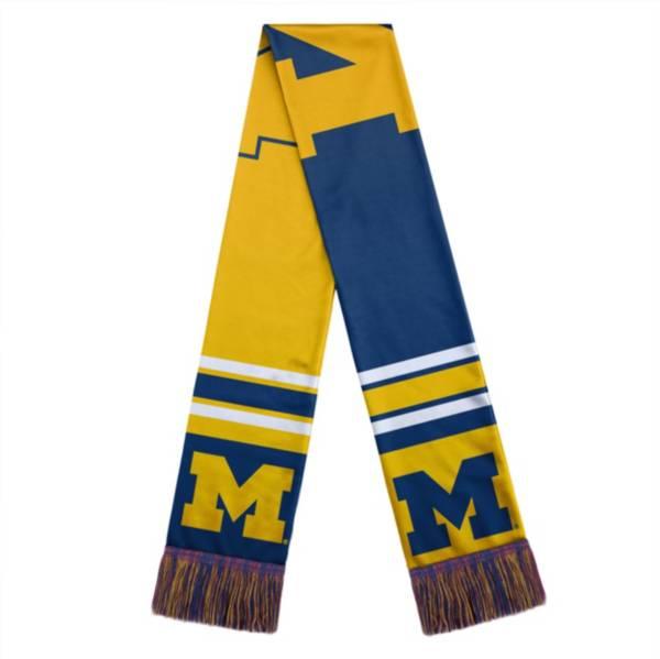 FOCO Michigan Wolverines Color Block Scarf product image