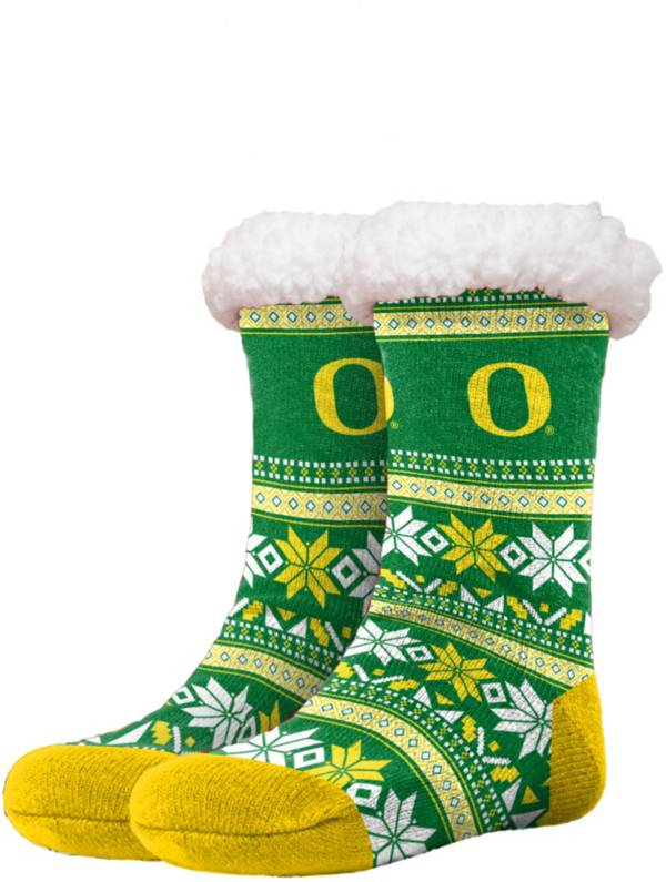 FOCO Oregon Ducks Footy Slippers product image