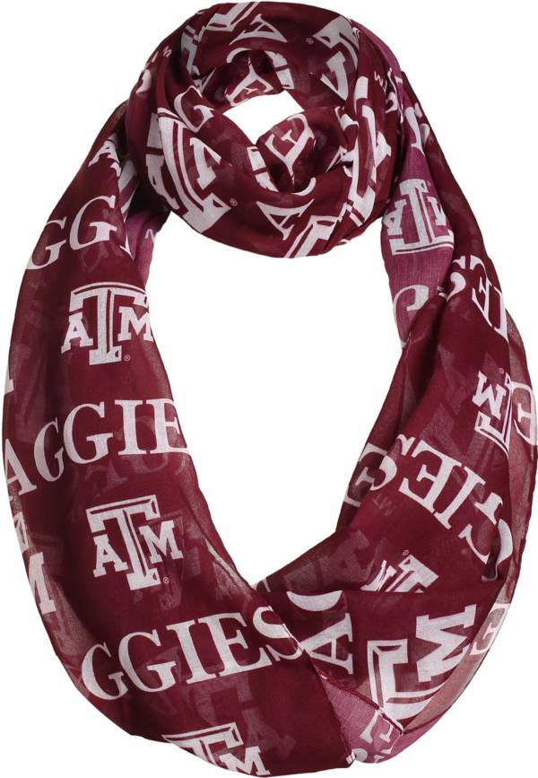 FOCO Texas A&M Aggies Logo Infinity Scarf product image