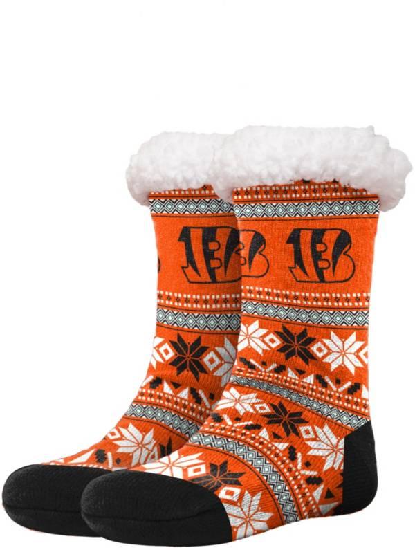 FOCO Cincinnati Bengals Footy Slippers product image