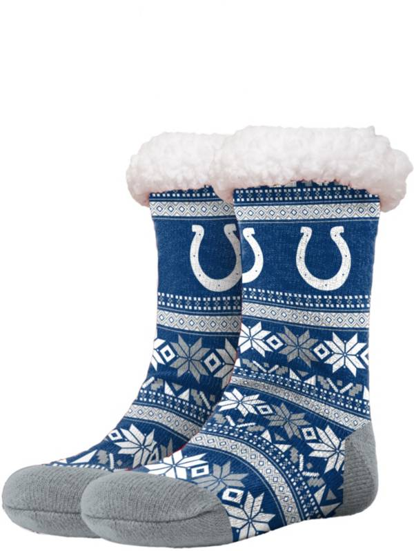FOCO Indianapolis Colts Footy Slippers product image