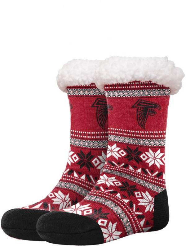 FOCO Atlanta Falcons Footy Slippers product image