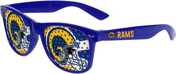 FOCO Los Angeles Rams Logo Sunglasses product image