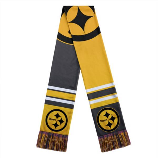 FOCO Pittsburgh Steelers Color Block Scarf product image